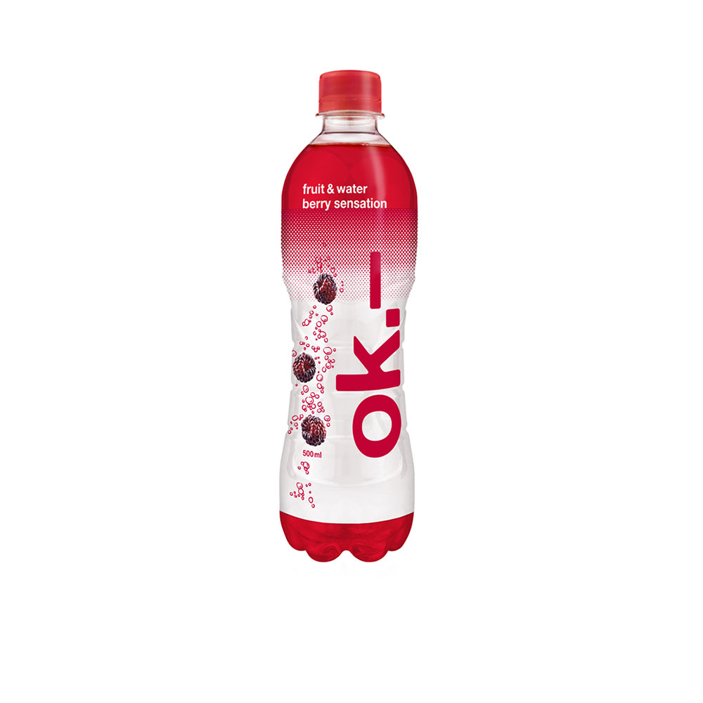 ok.– fruit & water berry sensation