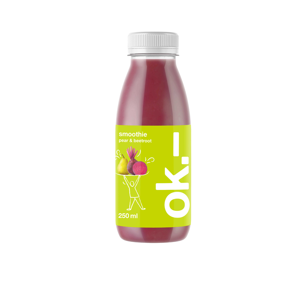 ok.– smoothie pear & beetroot