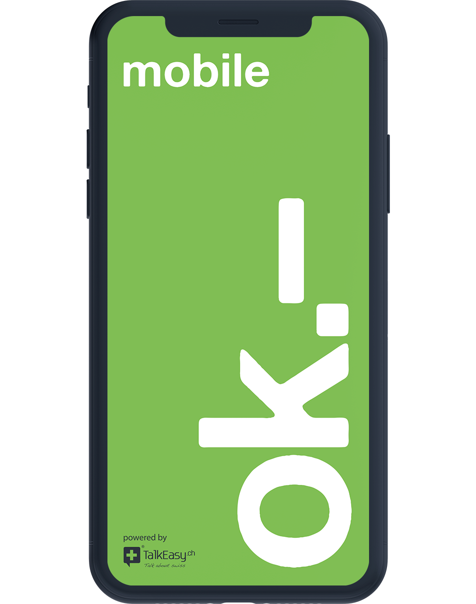 Registrieren bei ok.– mobile? It's ok.–